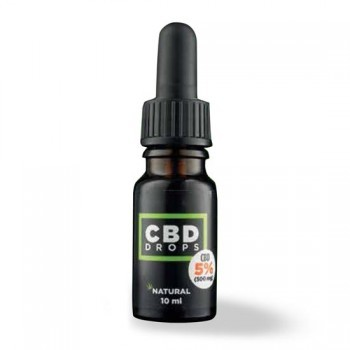 ELDA CBD Öl / Natural Drops 500mg / 10ml